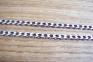 Серебряная черненая цепочка панцирь 1