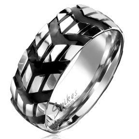 Байкерское кольцо из медицинской стали Spikes SR6797