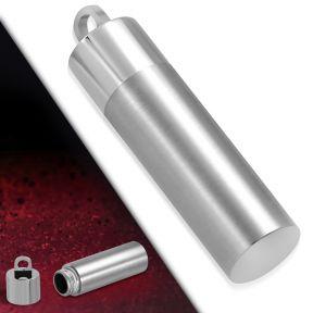Кулон капсула сатин полировка 316 Steel