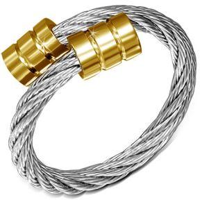 Женское кольцо-струна 316 Steel