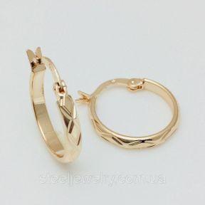 Серьги кольца женские Fallon Jewelry
