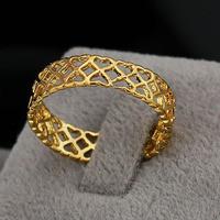 Кольцо женское с золотым напылением