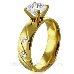 Обручальное кольцо с фианитами 316 ZRC180