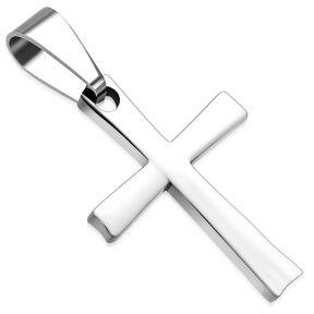 Кулон крестик из медицинской стали 316 Steel