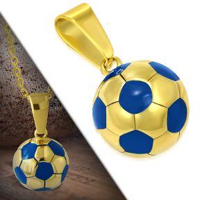 Кулон футбольный мяч 316 Steel