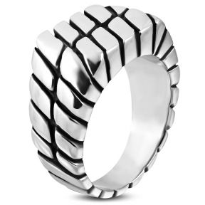 Байкерский перстень 316 Steel